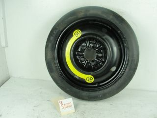 07 08 Tiburon Wheel 16x4 Spare Tire Rim Factory Compact Donut