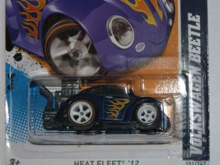 2012 Hot Wheels #151 Secret SUPER TREASURE HUNT VOLKSWAGEN BEETLE Mint