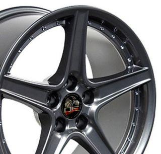 18 Rim Fits Mustang® Saleen Wheel Gunmetal 18x10