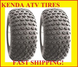 Two New Kenda Scorpion ATV Tires 2 22 11 8 22x11x8 Pair 22 11 8