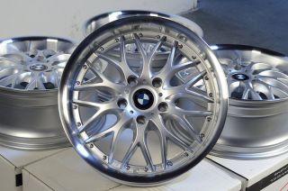 19 Silver BMW Wheels Rims Bimmer 135 318 323 325 328 330 335 x3 x5