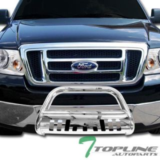 HeavyDuty SS BULL BAR(brush push bumper grill guard) 2004 2011 FORD