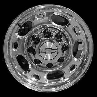 16 Polished Alloy Wheel for Chevy Silverado 2500 New