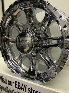 17 inch Chrome Raceline Wheels Rims Ford Super Duty F250 Excursion