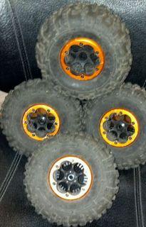 Axial XR10 Beadlock Wheels HB Rovers