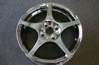 Chrome Toyota MR2 Staggered Wheels Rims Prt 69399