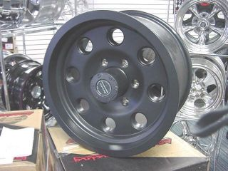 American Racing Black Mojave 16x8 Ford Jeep AX3981 5 on 4 5 BP Teflon
