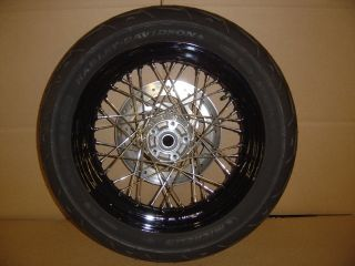 Davidson Rear Wheel & Tire 2011 Dyna Street Bob FXDB, size 160/70/17
