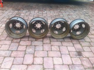 Chevy Dually Steel Wheels