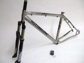 New Titanium Mtn ATB Bike Frame Set Rock Shox Sid Race