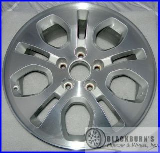 MDX 17 MACHINED SILVER 10 WPOKE WHEEL REFINISHED OEM FACTORY RIM 71730