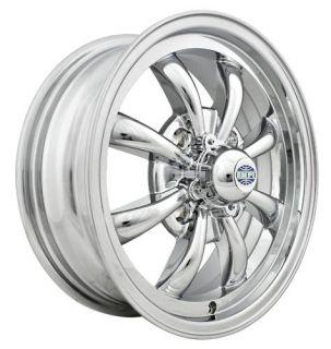 Empi GT 8 Rim 5 5 x 15 Chrome Wheel VW Bug Type 1 2 3