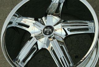 Dub Drone 5 S155 20 Chrome Rims Wheels Audi A5 A6 20 x 8 5 5H 45
