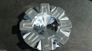 Helo 870 HE870 Aftermarket Chrome Wheel Center Cap 491L155 LG1108 12