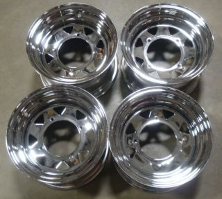Sportsman 800 700 600 500 400 ATV Ranger Chrome Wheels Rims OEM Stock