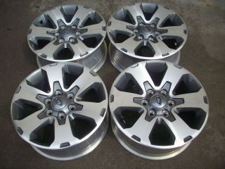 FORD F150 TRUCK EXPEDITION OEM FACTORY FX4 WHEELS RIMS CHARCOLE 2012