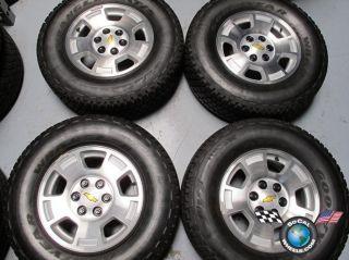 Tahoe Silverado Avalanche Factory 17 Wheels Tires Goodyear HP Rims O