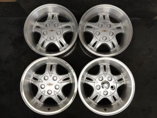 Blazer Extreme Wheels 01 02 03 04 Factory Stock OEM Alloy Xtreme Rims