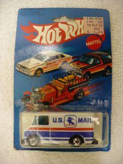 JD Hot Wheels US Mail Truck No 9643 1981 Hong Kong 14277