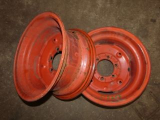 Case 195 Tractor Good Year 8 16 Rear Rims