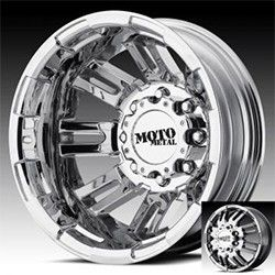 Moto Metal Bright PVD Dually Wheels Rims 8x200 2005 Ford F350