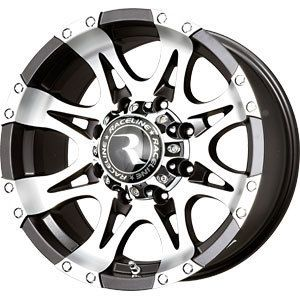 20X9 8x170 RACELINE WHL Raptor Black Wheels Rims 8 Lug Ford F250 F350