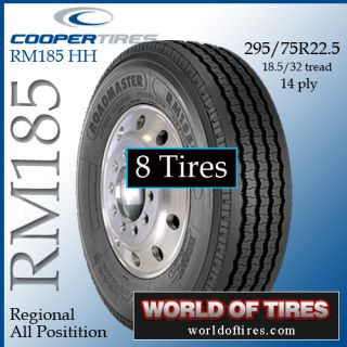 Tires Roadmaster RM185 295 75R22 5 Semi Truck Tire 22 5LP Tires 225
