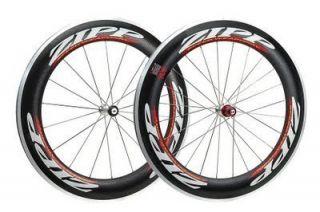 808 Clincher Wheelset Carbon Rims Road Triathlon Bicycle Wheels