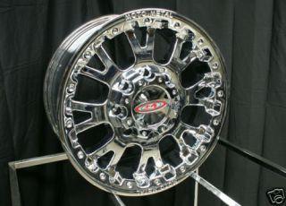 18 x 9 inch Chrome Moto Metal MO 956 MO956 Wheels Rims