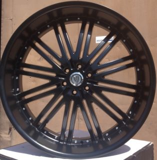 28 Versante 212 Matte Black Wheels Tires 6x139 7 Avalanche Suburban