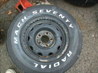 1972 1973 1974 Plymouth Barracuda Rally Rims