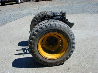 Allis Chalmers B 10 B 210 Riding Lawn Mower Rear Tire and Rim