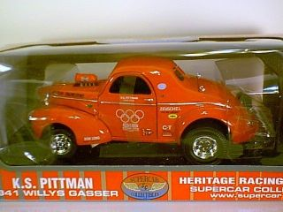 Pitman 41 Willys Gasser Supercars Collectibles Heritage racing