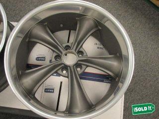 Motorsports 338 Superfinished Gunmetal Gray 20x10 Wheels Rims