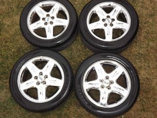 2001 Lincoln LS Chrome Rims and Tires