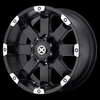 American Racing ATX AX18578088700 Crawl Wheel 17 x 8 Black 8x180