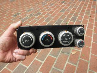 6390 05 08 Nissan Titan AC Heat Air Temp Control Switch Panel Unit