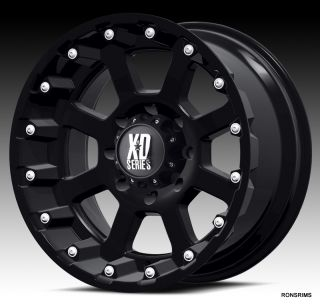 18x10 8 Lug Chevy Ford Dodge Silverado 8 Bolt GMC Wheels