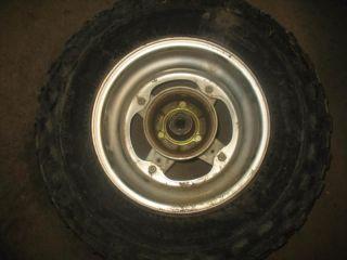 Front Wheel Rim Tire Hub 1986 Yamaha BW200