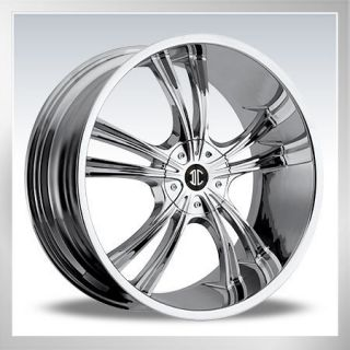 18 2CRAVE 2 Chrome New Wheels Rims Tires 225 40 18 Nissan Toyota