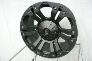 XD 778 Monster 18 Black Wheels Rims 5 6 8 Lug 18x9