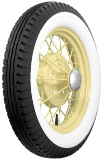 475 500 19 Firestone 2 5 8 White Wall Tire Model A
