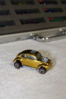 Hot Wheels Redline Custom Volkswagen Gold Over Chrome Minty