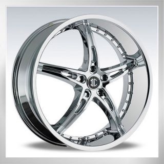 20 2CRAVE 14CHROME Wheels Rims Tires Staggered Available Mustang 350Z