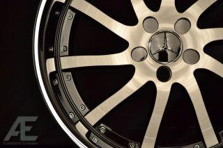 Mercedes C300 C320 C350 C63 Wheels Rims and Tires RW4 Black CL