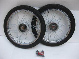 Honda S90 CL90 1 4 x 18 F R Complete Wheel Rim Tire