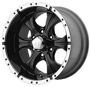 American Racing 7918961318 Helo Series 791 Black Wheel