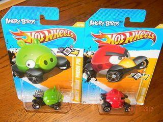 Minion Pig Red Bird 1st Editions Hot Wheels 2012 35 47 247 RARE