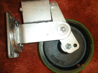 Albion Heavy Duty Spring Loaded Swivel Caster 8 Wheel New