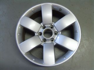 2008 2011 Nissan Armada Wheel 20x8 6 Spoke Full Painted Silver